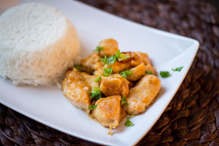 obiad z kurczaka