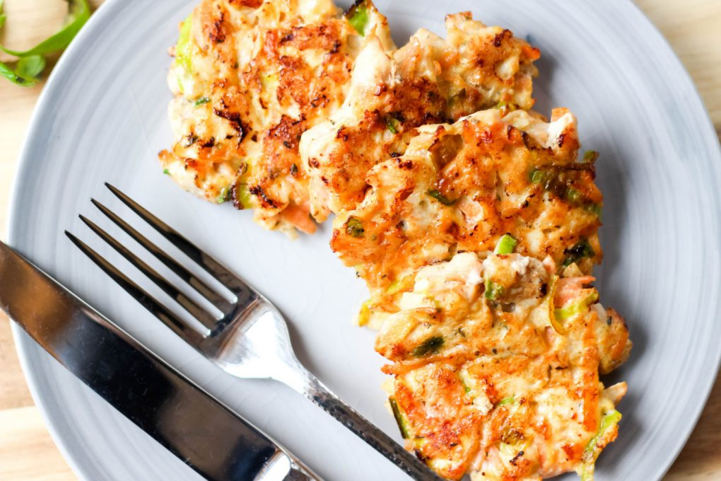 kotleciki z piersi kurczaka z warzywami