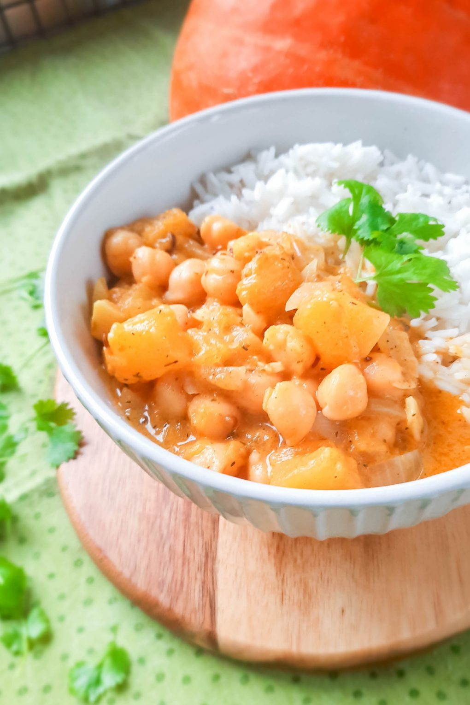 curry z dyni i ciecierzycy