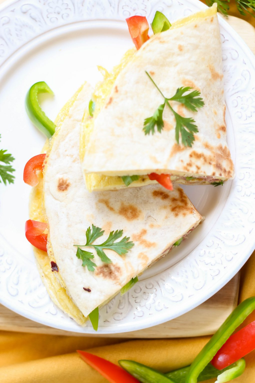 Tortilla z omletem