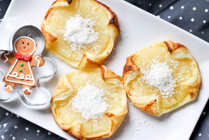 ananas w cieście francuskim