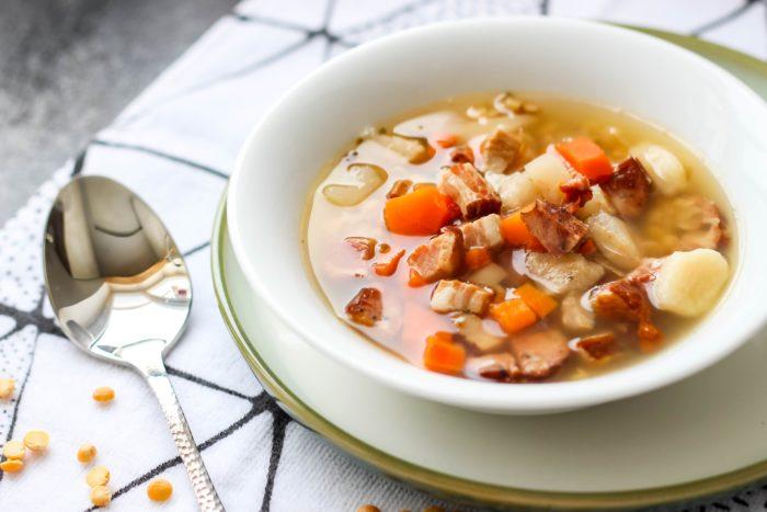 Zupa grochowa czyli domowa grochówka ⋆ M&M COOKING